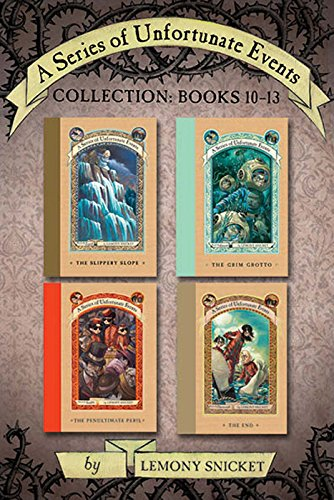 A Series of Unfortunate Events Collection: Books 10-13 (A Series of Unfortunate Events Boxset Book 4) (A Series Of Unfortunate Events Neil Patrick Harris)