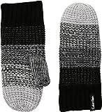 Calvin Klein Women's Ombre Knit Mittens Black One Size
