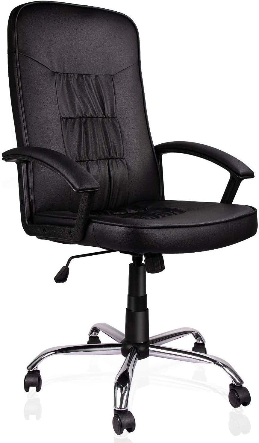 Smugdesk Office High Back Bonded Leather Game Racing Chair