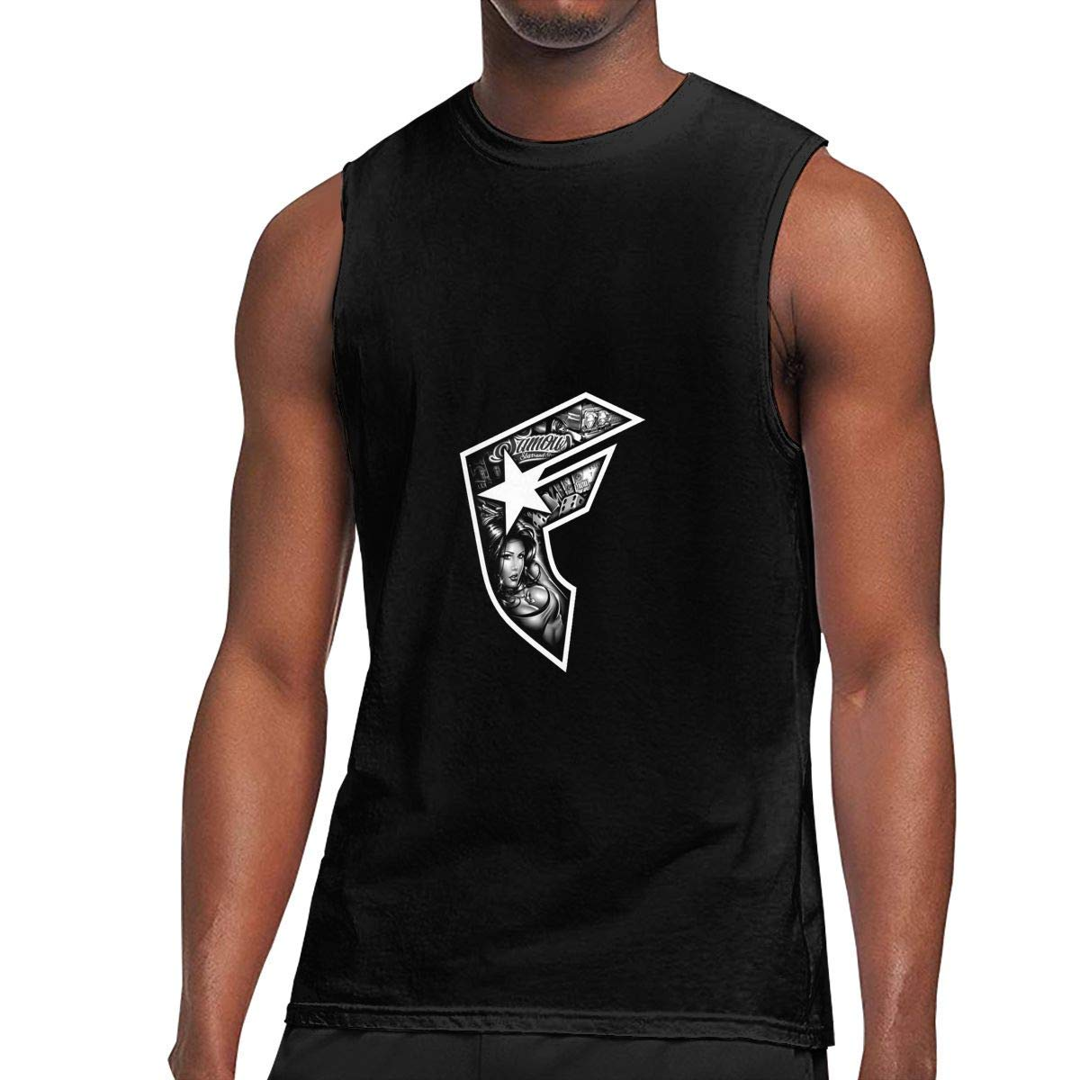 S Sleeveless T Shirts Famous Stars And Straps Workout Tank Tops Gym Bodybuilding Tshirts Black