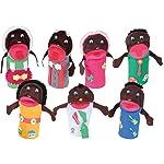 Fantoches Família Feltro Carlu Brinquedos