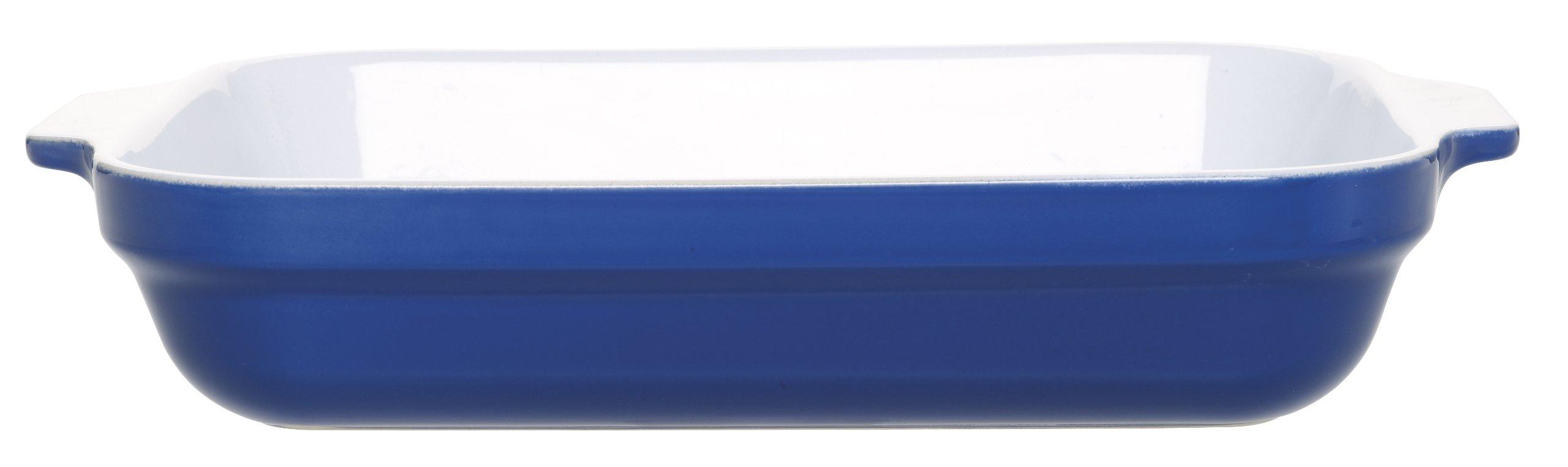Emile Henry 13-by-10-Inch Lasagna Baker, Azure Blue