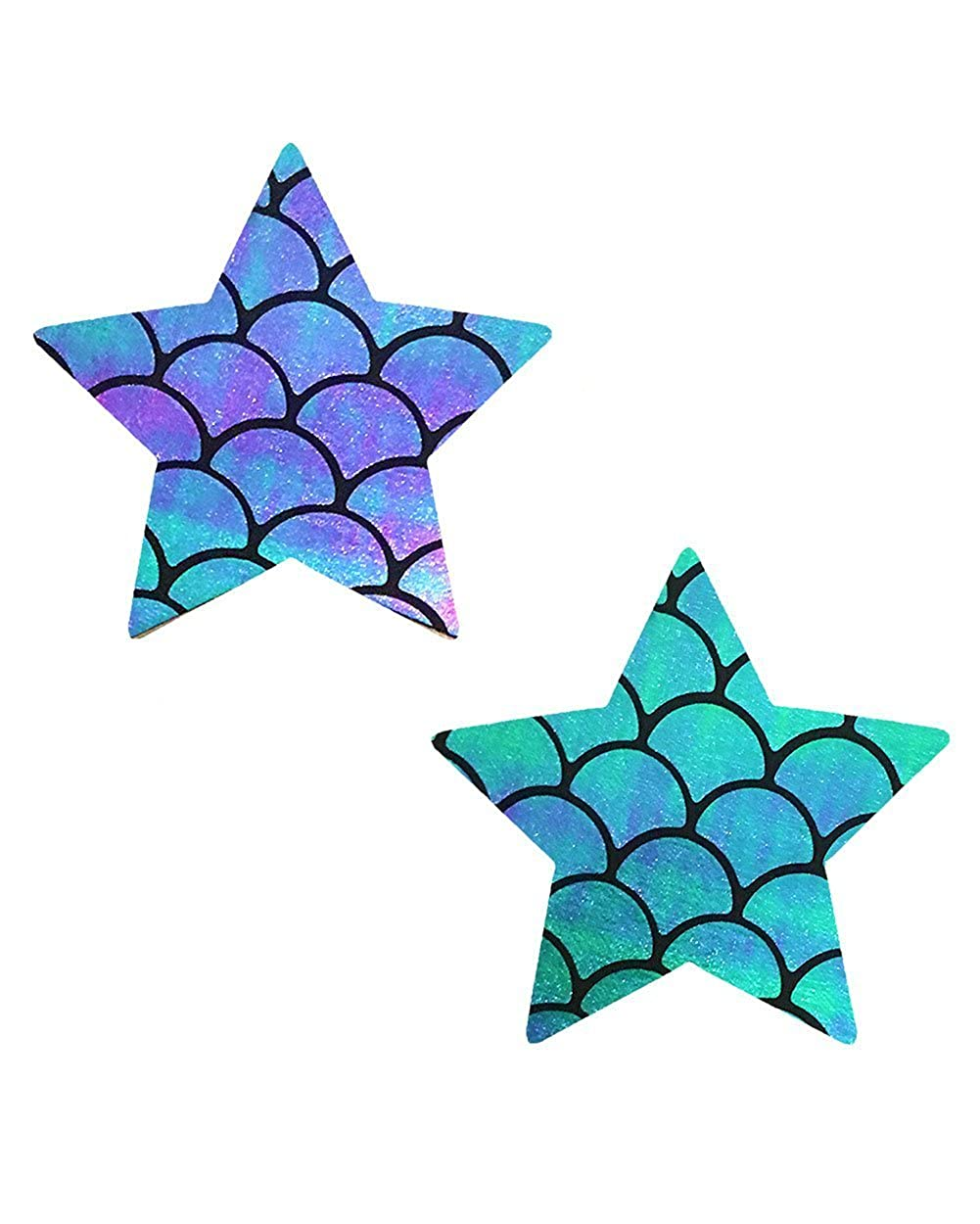 iHeartRaves Star Rave Pasties (Set of 2 Pasties) psty-nva-chnstr-tur