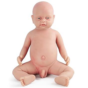 Vollence Muñeco bebé Reborn Realista de 46 cm. Libre de PVC. Muñeco bebé  Realista c2712c6bb241