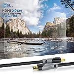 CSL-5m-Cavo-HDMI-4k-60Hz-HDR-HDMI-20-a-b-4K-3D-UHD-1080p-3D-HFR-Ethernet-Full-HD-1080p-Arc-e-CEC-schermatura-Tripla-e-schermatura-connettore-e-Contatto
