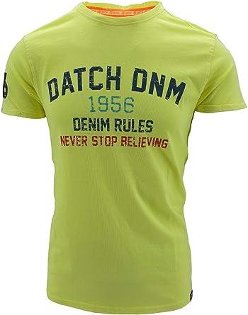 Datch - Camiseta de manga corta para hombre de algodón: Amazon.es ...