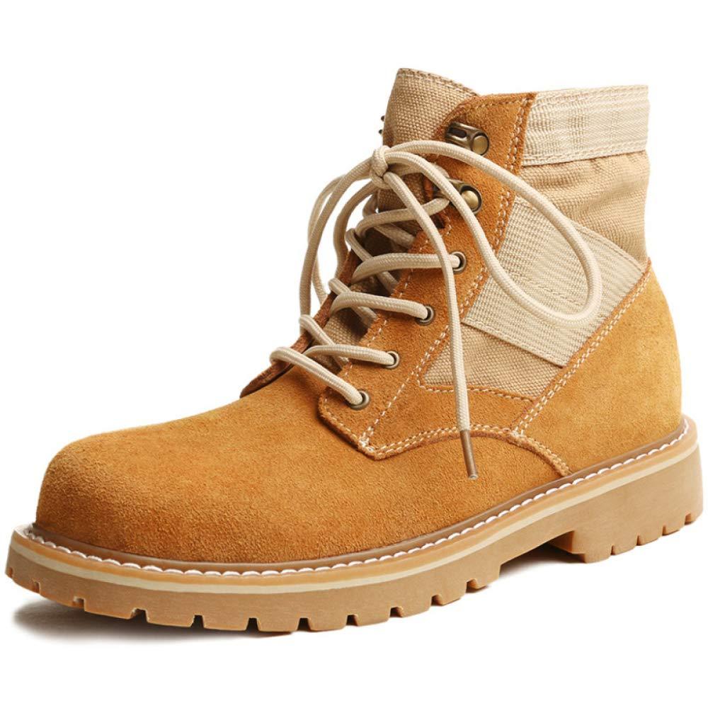 LIJUN Winter Martin Stiefel Rutschfest Draussen Stiefel Warm Gefüttert Beiläufig Wandern Schuhe Größe  38-43