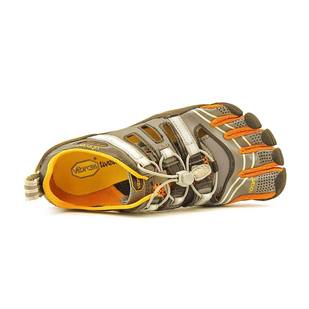 Vibram Five Fingers - - Treksport Sandale (Damen) - Fingers Zehenschuhe - Grau/Orange Grau/Orange 773325