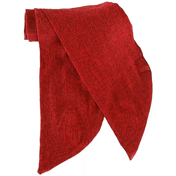 Deluxe Adult Costumes - Jack Sparrow Style red print pirate costume scarf
