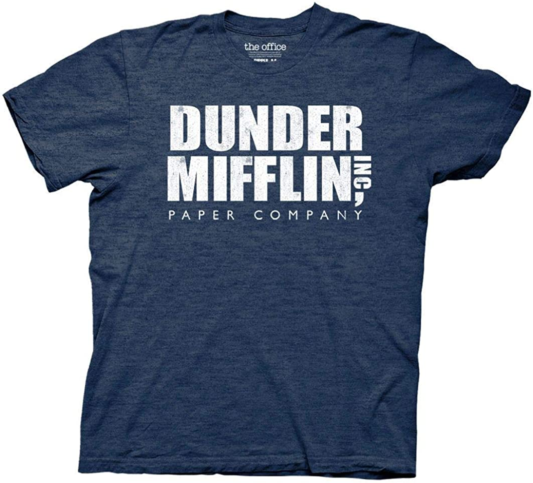 Ripple Junction The Office Dunder Mifflin Vintage Adult T-Shirt