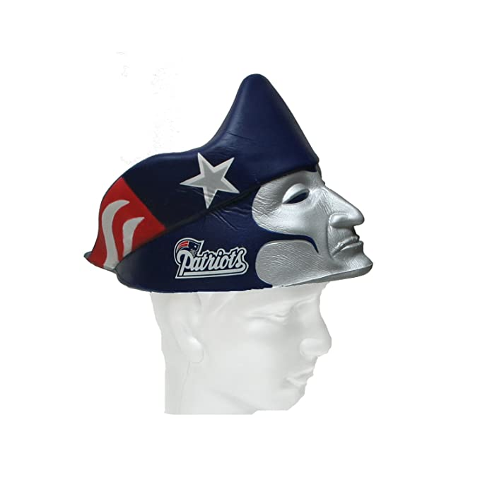 Amazon.com  NFL New England Patriots Foamhead  Sports   Outdoors 8a180408efb