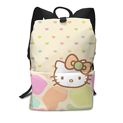 70abfb3c9 Amazon.com: Adult Travel Laptop Backpack - Hello Kitty (41) Business ...