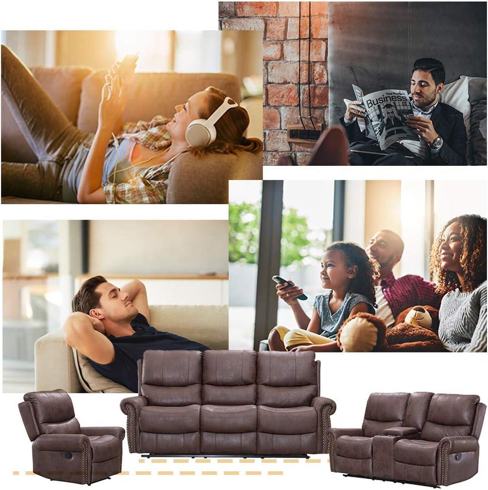 Amazon.com: Sofá reclinable para sala de estar, sofá ...
