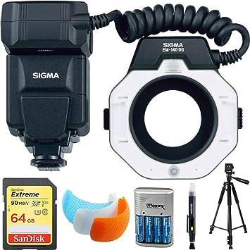 Sigma EM-140 DG Macro flash para Nikon Cámaras réflex ...