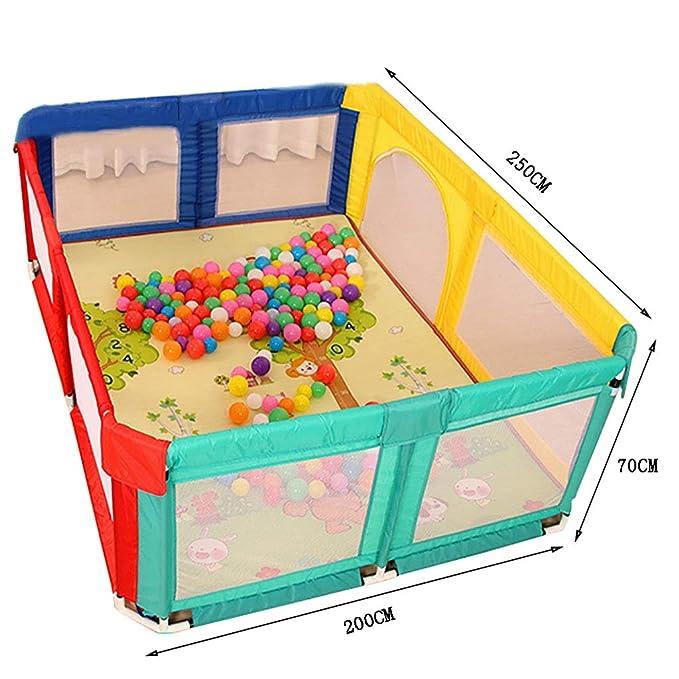 WYQ Parque Infantil Área de Juegos para Valla de bebé Grande ...