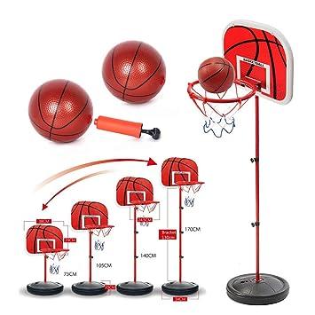 Purra145 Juego de Red de Baloncesto con Bomba de balón de ...