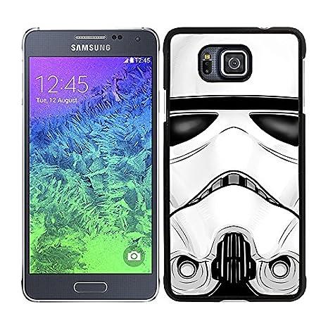 Funda carcasa para Samsung Galaxy Alpha cara soldado SW ...