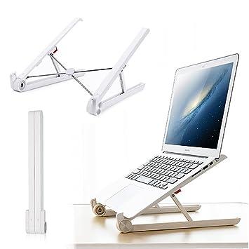 Portátil ligero soporte para portátil de refrigeración, PAWACA Soporte de soporte para portátil ajustable portátil