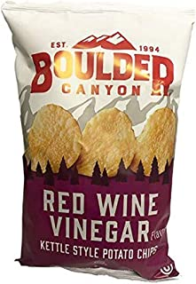 product image for Boulder Canyon, Chips Potato Kettle Cooked Red Wine Vinegar, 5 Ounce