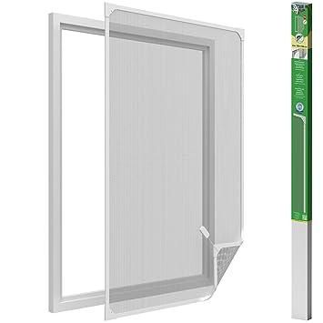 Super Insektenschutz-Fenster - 120x140 cm - Fliegengitter mit PH25