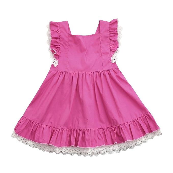 Vestidos Niña Bebe, FAMILIZO Vestidos Bebe Niña Verano Vestido De Fiesta Vestidos Niña Verano Manga Corta Para Bebés Niña Vestidos Niñas Ceremonia Vestidos ...