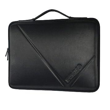 DOMISO 14 Pulgadas Funda Resistente al Agua Bolsa Maletin Protectora para Ordenador Portátil/Tablet/Apple/HP Stream 14 Pavilion 14 / Acer Aspire 1 ...