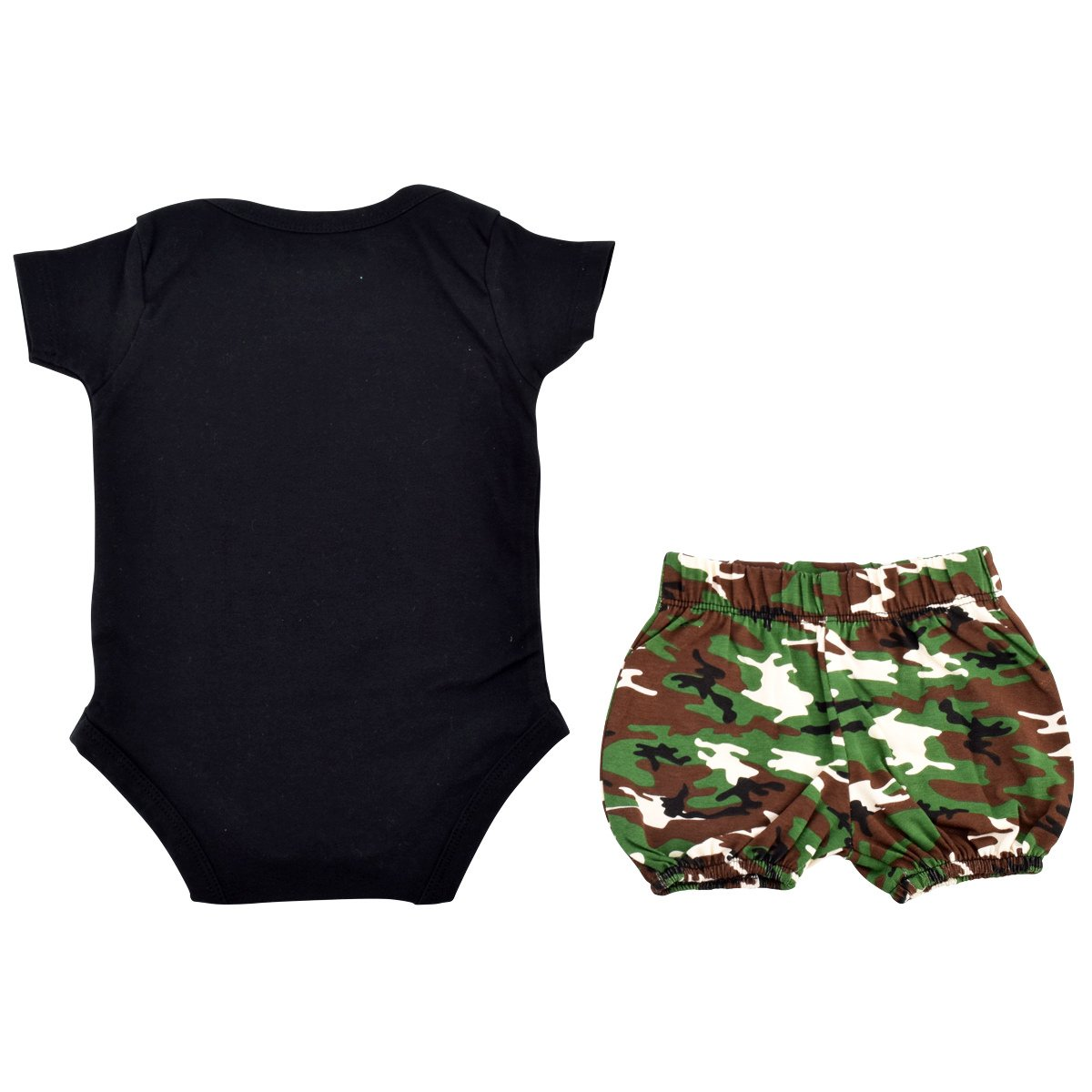 10109f0e12c9 Amazon.com  Unique Baby Girls I m The Pink in Daddy s Camo 1st Father s Day  One Piece  Clothing