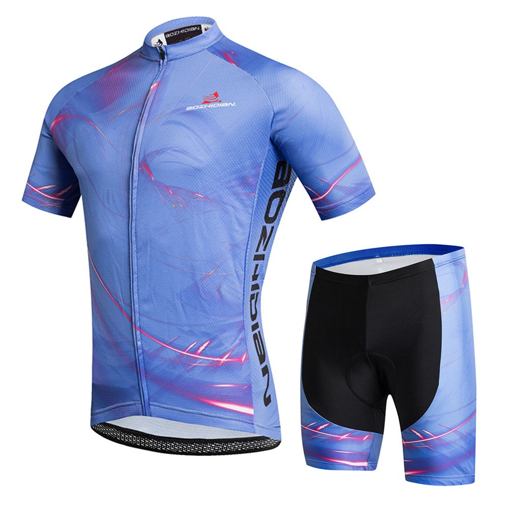 Uriah Women's Cycling Jersey Shorts Sets Short Sleeve Flowing Light Size M(CN) by Uriah