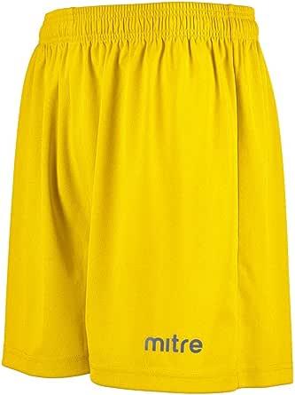 Mitre Metric 2 - Pantalones Cortos para Entrenamiento Unisex Adulto