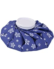 """9"""" Ice Bag Cold Pack Sports Injury Neck Knee Pain Relief Snowflake Royalblue"""