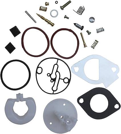 Carburetor Rebuild Kit Master Overhaul For B /& S Nikki Carbs 796184