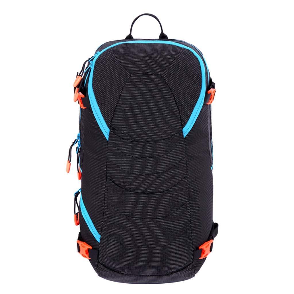 CHBAOZI アウトドアスキーバッグ 登山用バッグ 登山用バックパック ポリエステル繊維+ナイロン ブラック/オレンジ メンズ&レディース 20リットル 281752cm ブラック CHB545 B07PDBC2HG ブラック