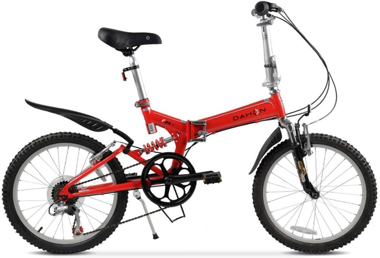 KOSGK Bicicleta MontañA Bicicletas Unisex Cuadro Acero 20 con ...