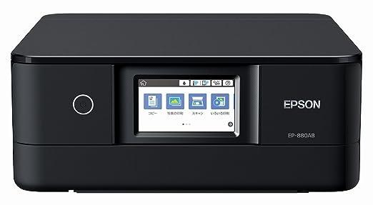 エプソン プリンター インクジェット複合機 カラリオ EP-880AB ブラック(黒)