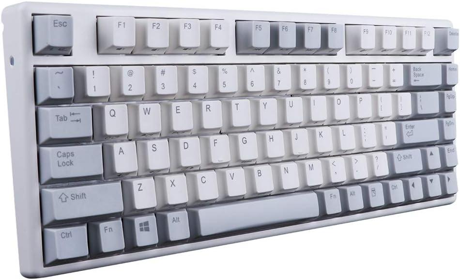 Epomaker NIZ Plum 84-teclas teclado electro-capacitivo Cherry MX Switch para Windows PC Gamers