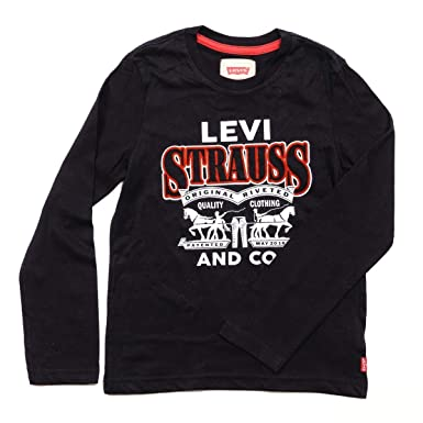 Levis kids Long Sleeves T-Shirt, Camiseta para Niños Stranger Things ...