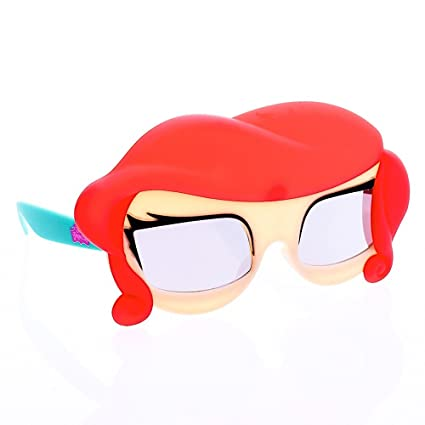 85db1b92e7 Amazon.com  Sun-Staches Costume Sunglasses Lil  Characters Princess Ariel Party  Favors UV400  Toys   Games