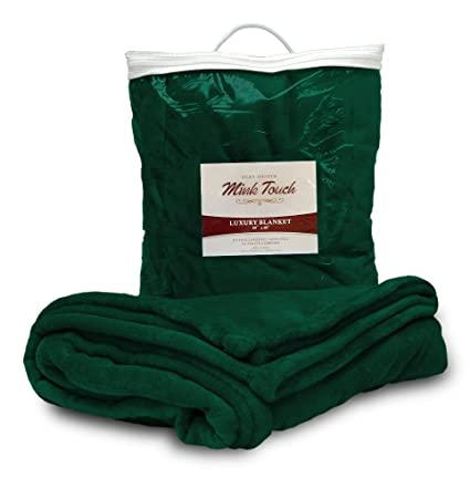 Amazon Cloud Mink Touch Throw Blanket Forest Green Home Classy Forest Green Throw Blanket