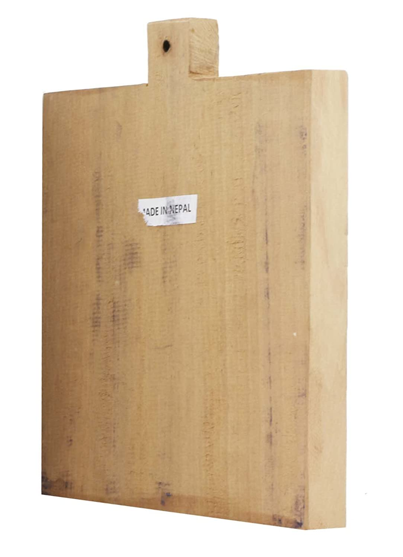 Amazon.com: Tibetan Buddha Statue Wood Print Block for Buddhist ...