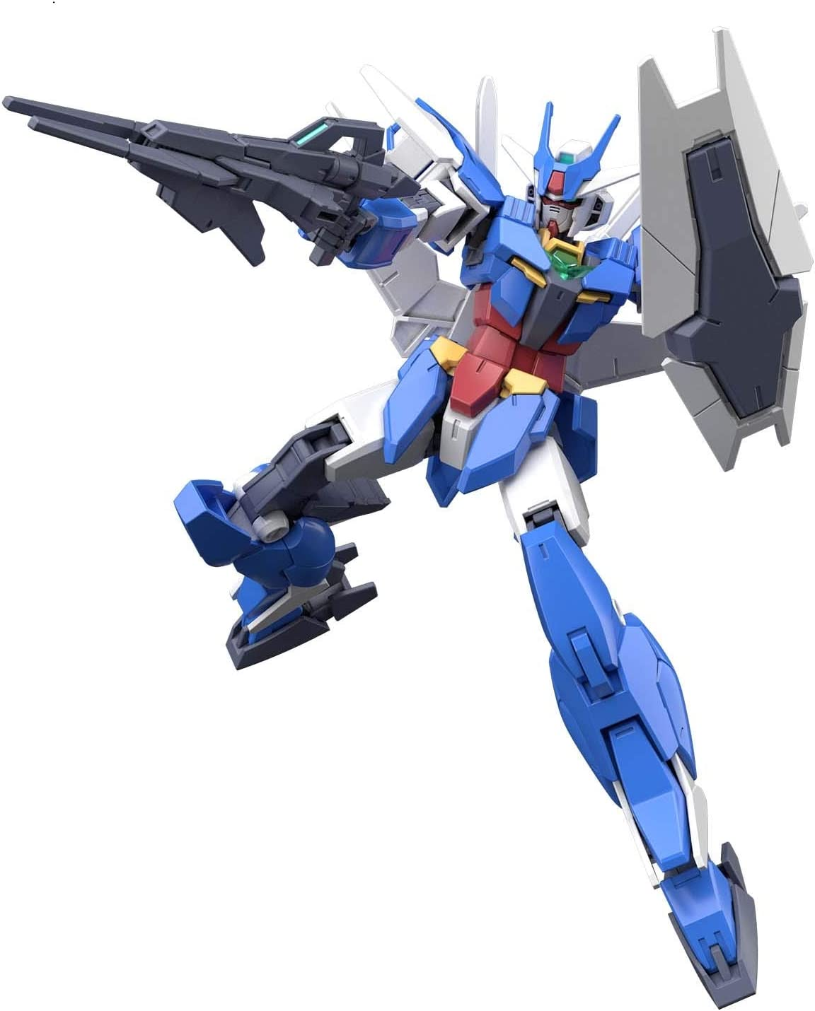 Amazon.com: Gundam Build Divers RE:Rise #01 Earthree Gundam ...