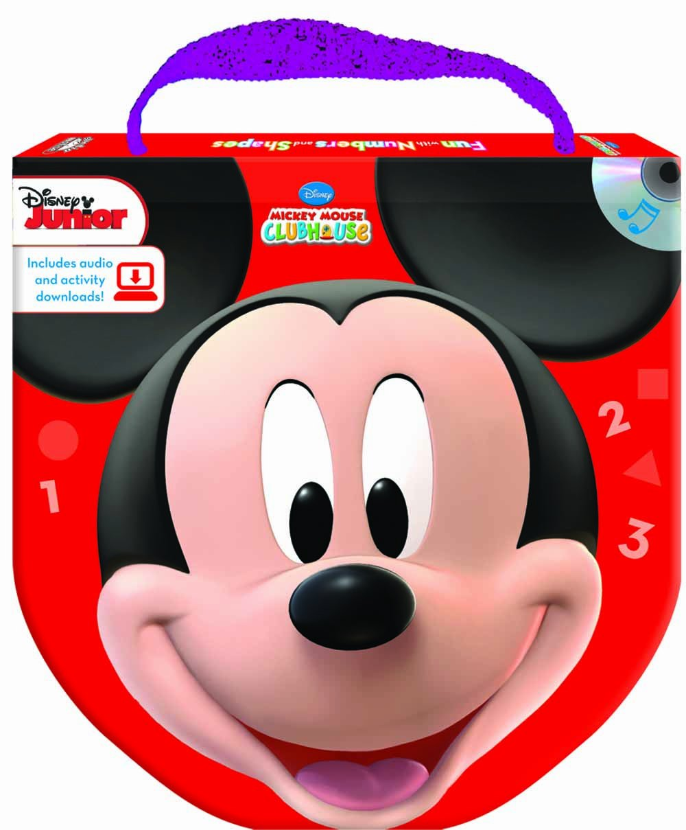 Disney Mickey Mouse Clubhouse Fun with Numbers and Shapes ...