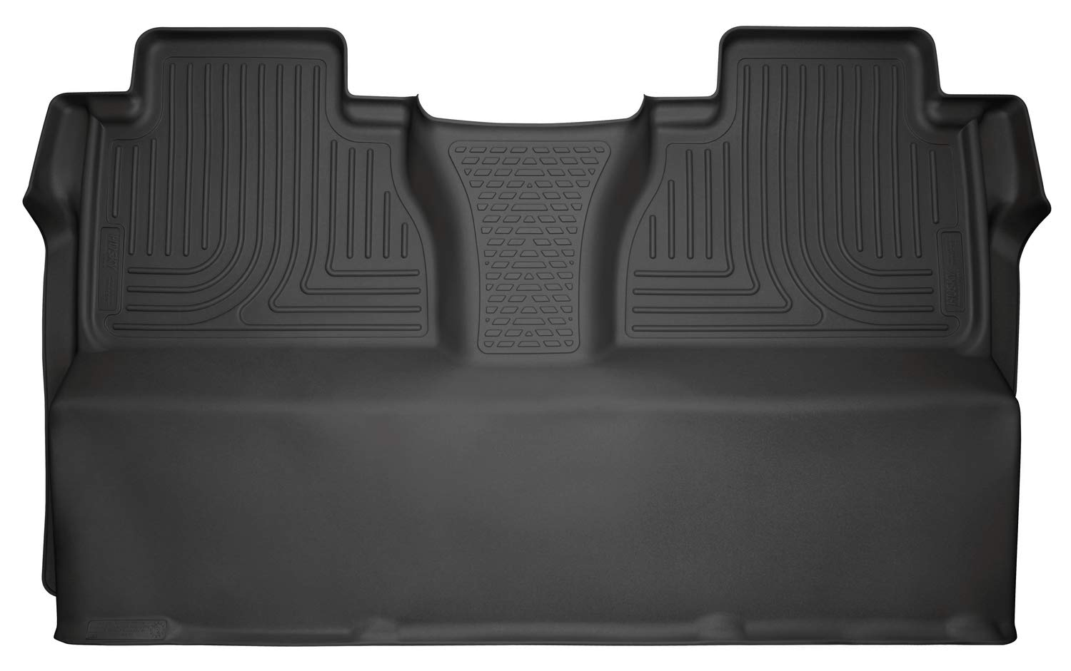 Husky Liners 19581 Black Second Seat Fits 14-19 Tundra CrewMax Cab
