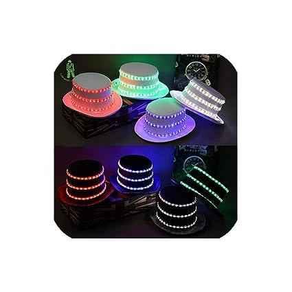 Amazon com: Led Lighting Sequins Hat Hip Hop Jazz Hats Cap Club
