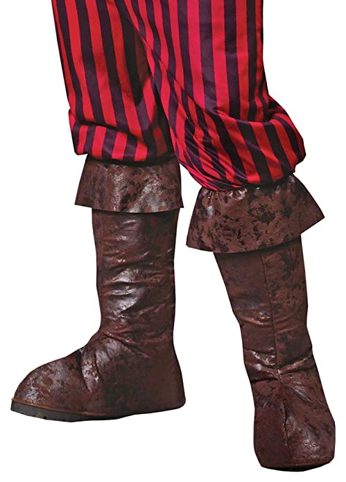 c1fe18f11d793 Amazon.com: Pirate Boot Tops Halloween Costume - 1 Size: Shoes