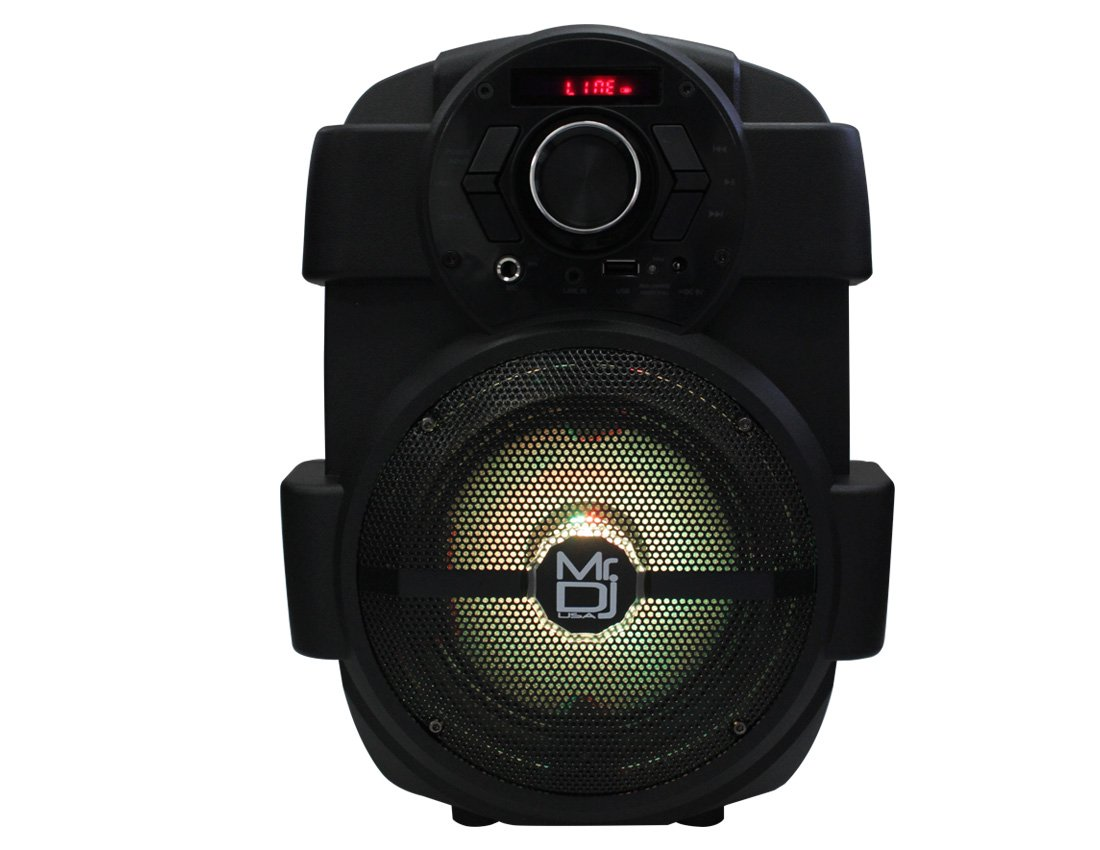 Mr. Dj PSE65BT 6.5'' Portable Active Speaker with Rechargeable Battery 1000W P.M.P.O, 1'' by Mr. Dj (Image #3)