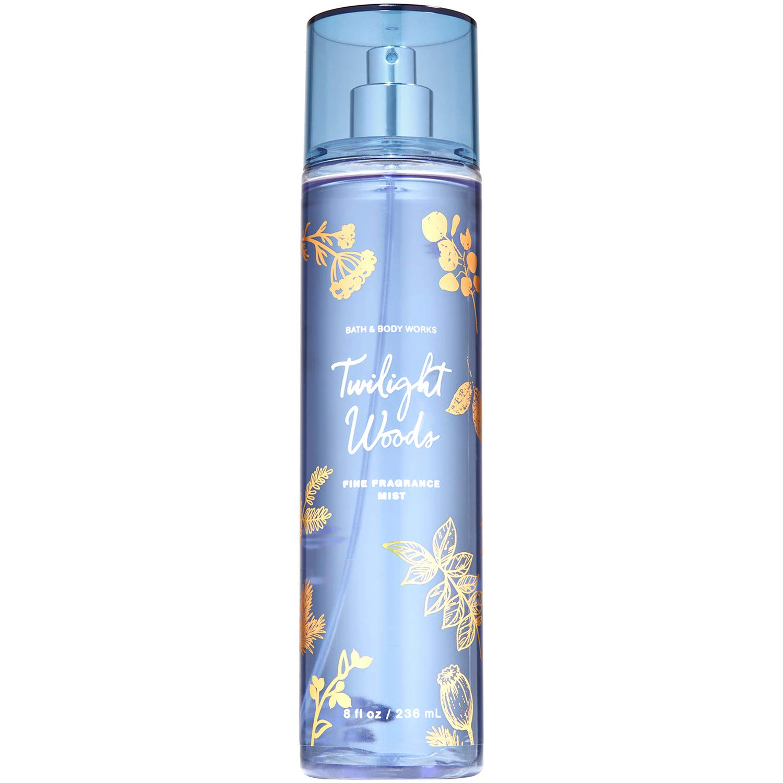 Bath and Body Works TWILIGHT WOODS Fine Fragrance Mist 8 Fluid Ounce (2019 Edition)