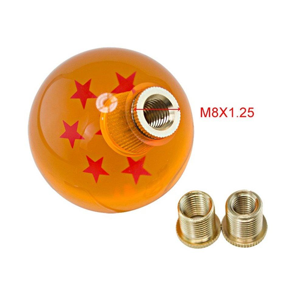 ID 7 estrellas pomo de cambio de marchas excepcional Dragonball Z M8//M10//12 Dragn Ball de 54 mm Tucool Racing