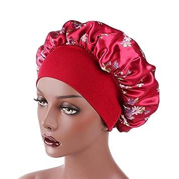 a1e6a9c66ab Amazon.com   Stain Sleeping Cap for Women