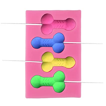 CHICTRY Moldes de silicona antiadherentes para collar, diseño de cerdito de chocolate y caramelos, para decoración de pasteles, para bachelorette y fiestas ...