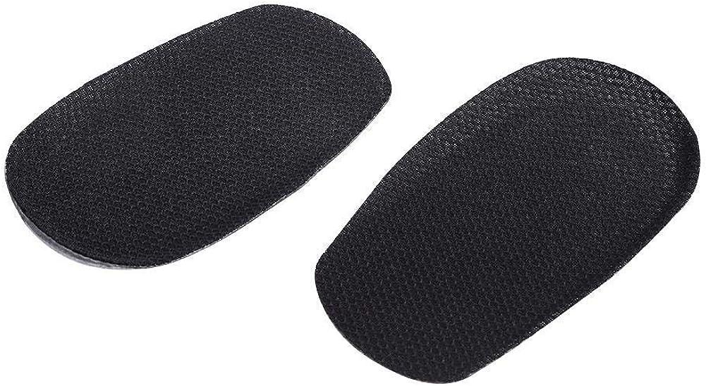 Kireina 3682/5000 Plantilla Interna de Gel de Silicona para Aumentar la Altura,Media Longitud talón Almohadilla Taza Antideslizante Invisible con Aumento físico, Zapatos de inserción, Almohadillas